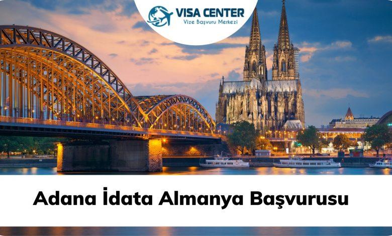 Adana İdata Almanya Başvurusu