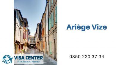 Fransa Ariège Vize Başvurusu