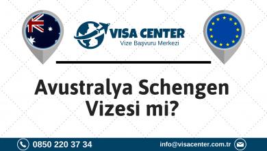 Avustralya Schengen Vizesi Mi