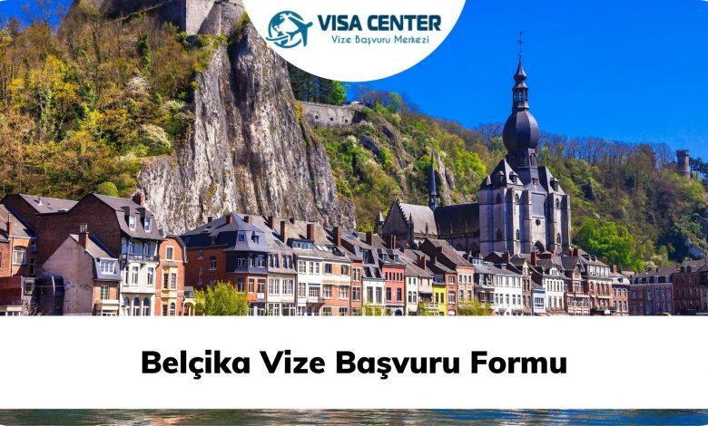 Belçika Vize Başvuru Formu
