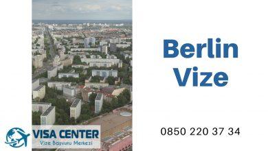 Almanya Berlin Vize Başvurusu