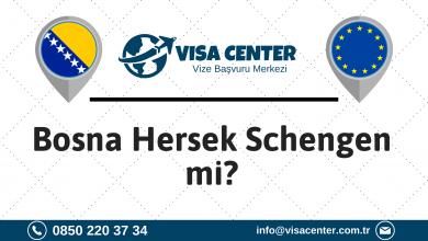 Bosna Hersek Schengen Mi