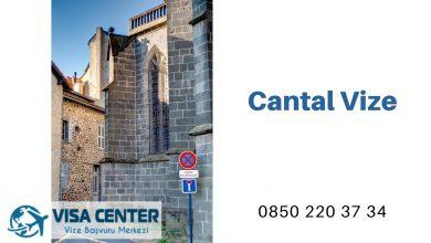 Fransa Cantal Vize Başvurusu