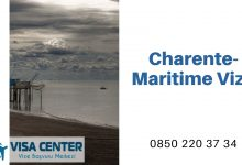 Fransa Charente-Maritime Vize Başvurusu