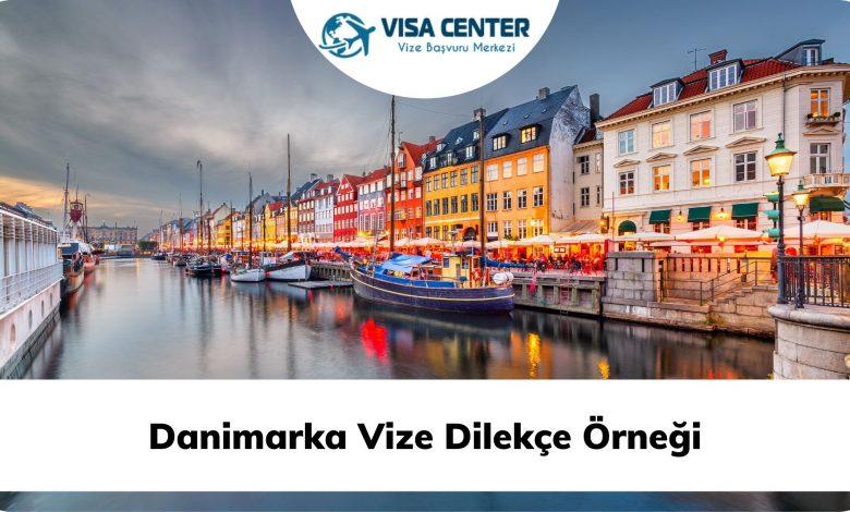 Danimarka Vize Dilekçe Örneği