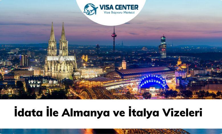 İdata İle Almanya ve İtalya Vizeleri