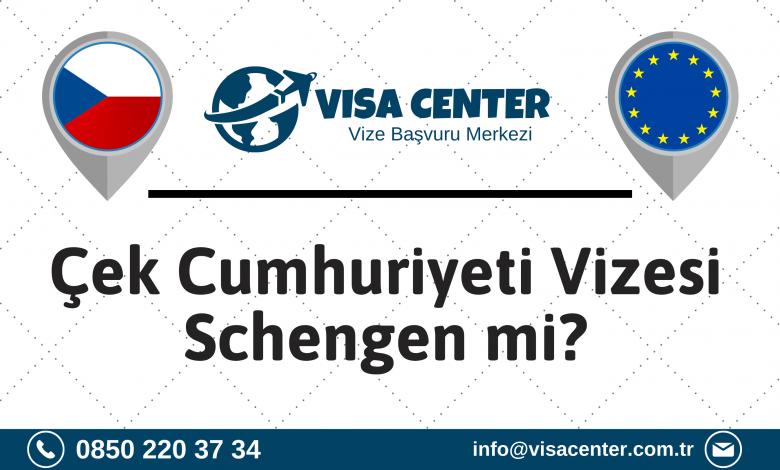 Çek Cumhuriyeti Vizesi Schengen Mi