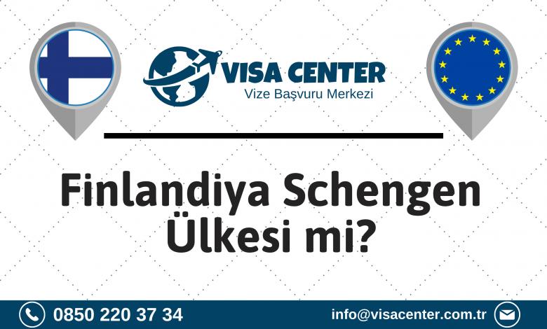 Finlandiya Schengen Ülkesi Mi