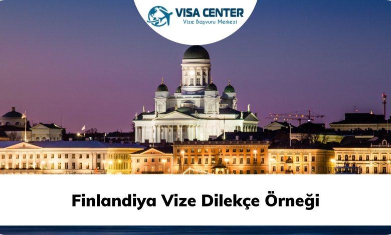 Finlandiya Vize Dilekçe Örneği
