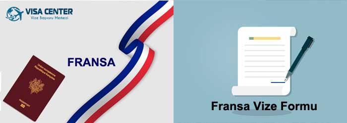 Fransa Vize Başvuru Formu 1 – fransa vize formu