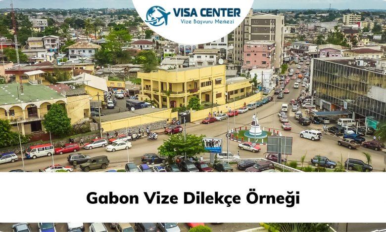 Gabon Vize Dilekçe Örneği