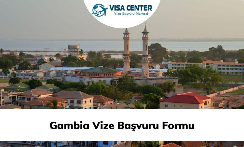 Gambia Vize Başvuru Formu