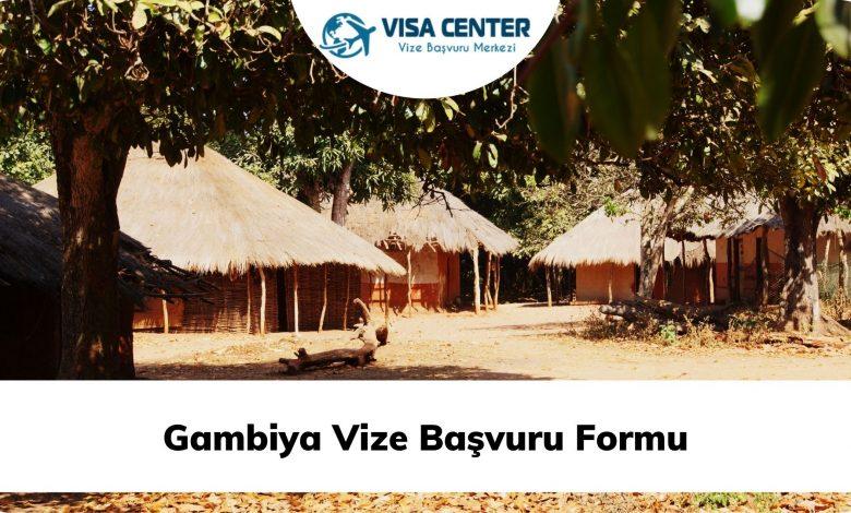 Gambiya Vize Başvuru Formu