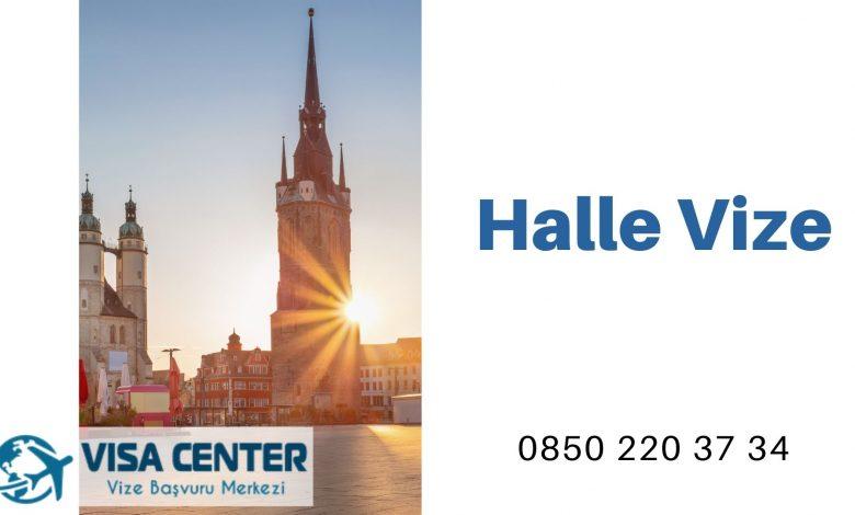 Almanya Halle Vize Başvurusu
