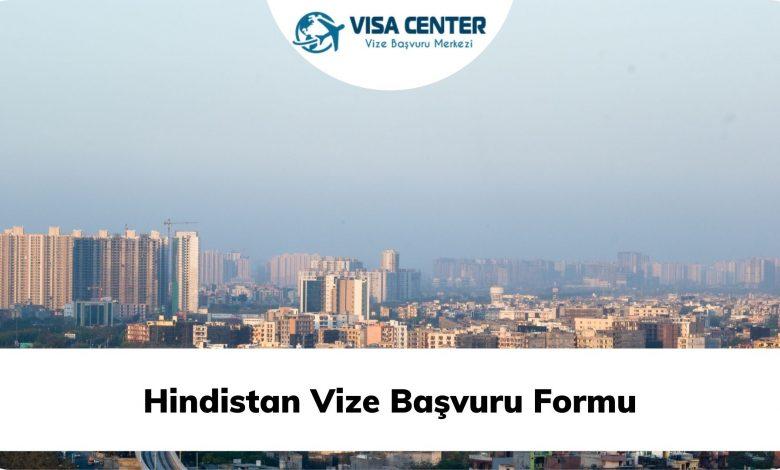Hindistan Vize Başvuru Formu