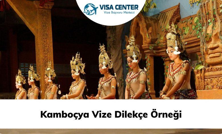 Kamboçya Vize Dilekçe Örneği