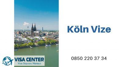 Almanya Köln Vize Başvurusu
