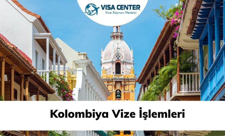 Kolombiya Vize İşlemleri