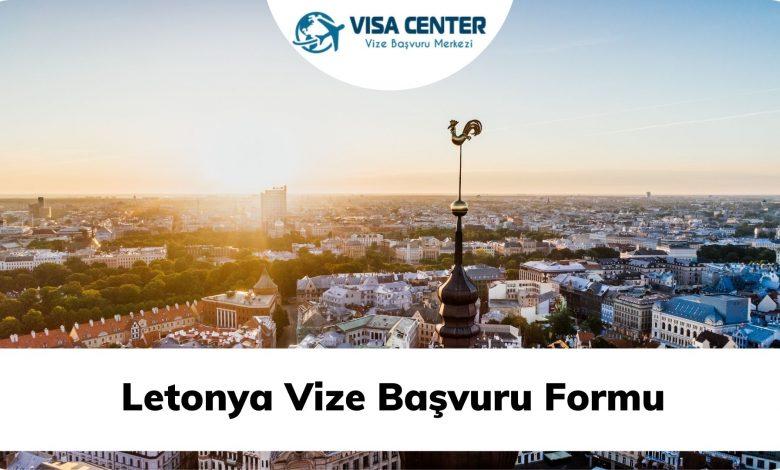 Letonya Vize Başvuru Formu