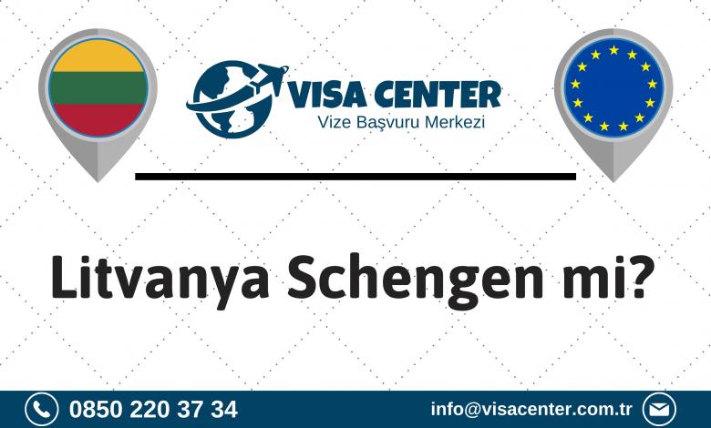 Litvanya Schengen mi