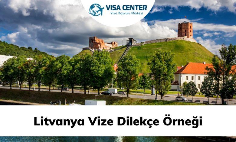 Litvanya Vize Dilekçe Örneği