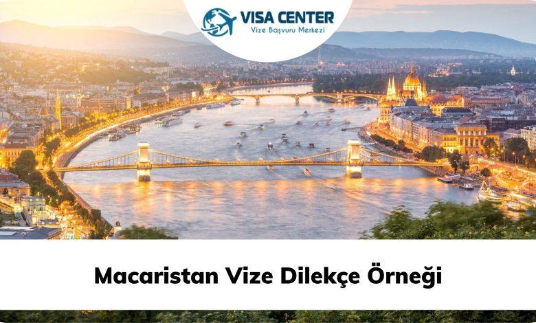 Macaristan Vize Dilekçe Örneği