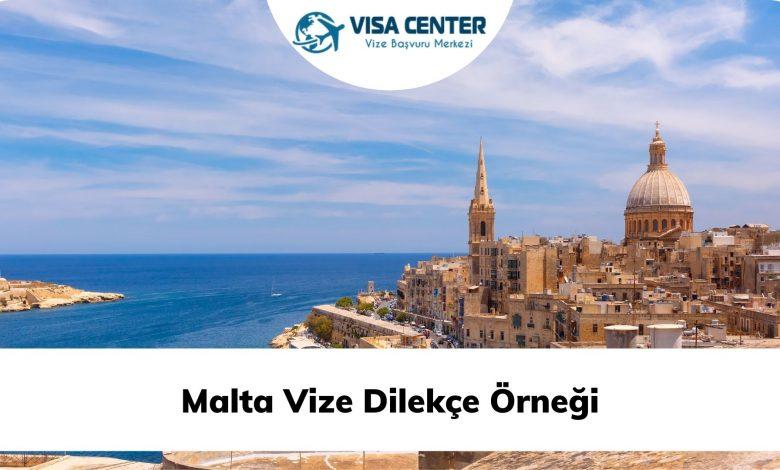Malta Vize Dilekçe Örneği