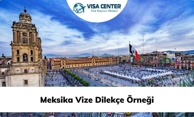 Meksika Vize Dilekçe Örneği