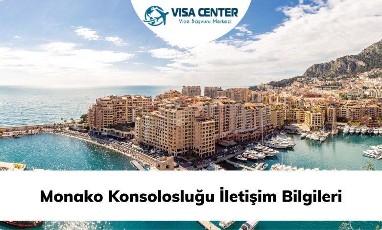 Monako Konsolosluğu İletişim Bilgileri