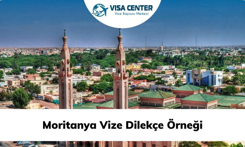 Moritanya Vize Dilekçe Örneği