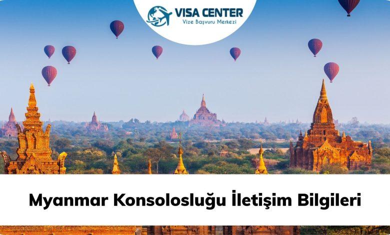 Myanmar Konsolosluğu İletişim Bilgileri