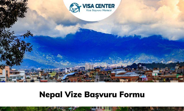Nepal Vize Başvuru Formu