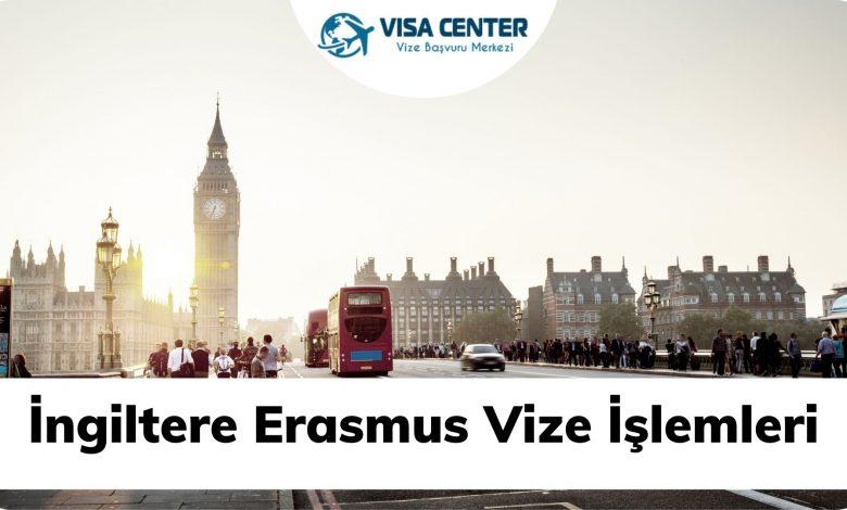 İngiltere Erasmus Vize İşelmleri