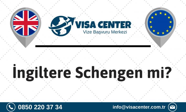 İngiltere Schengen Mi
