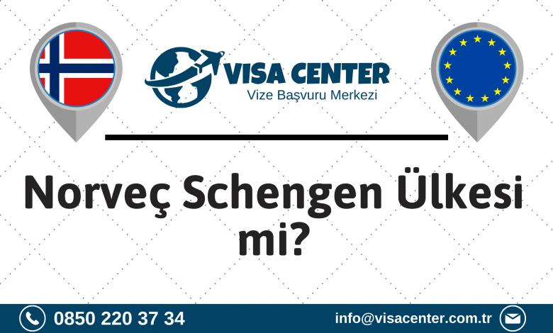 Norveç Schengen Ülkesi Mi