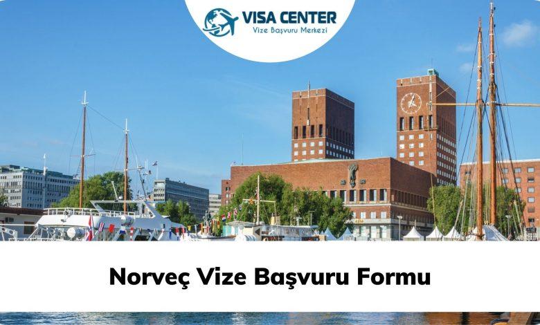 Norveç Vize Başvuru Formu