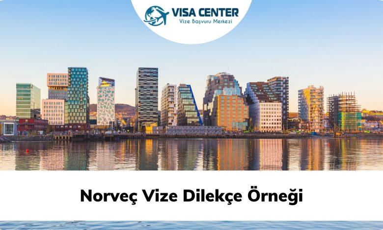 Norveç Vize Dilekçe Örneği