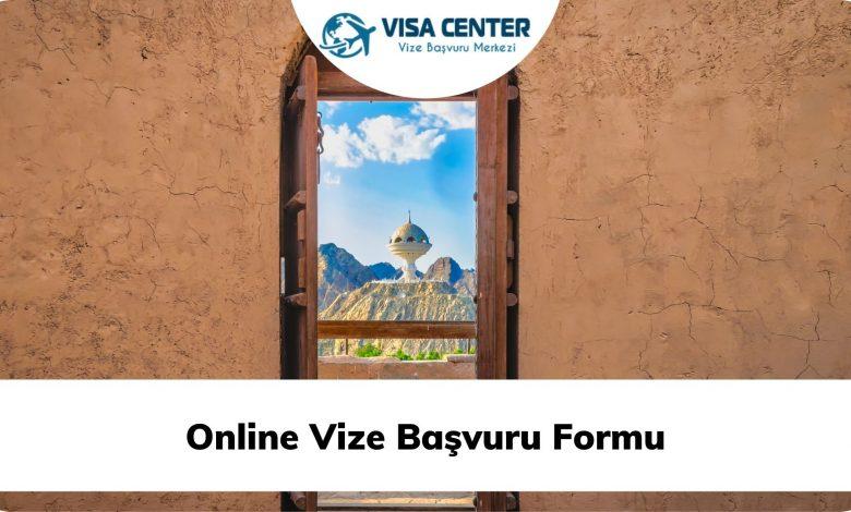 Online Vize Başvuru Formu