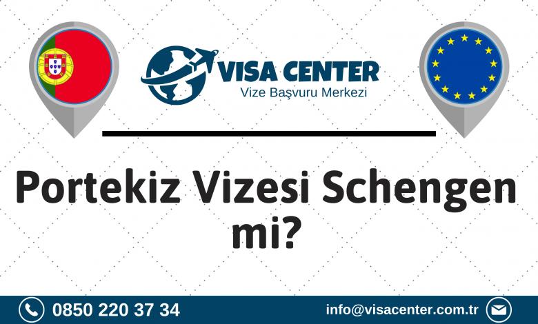 Portekiz Vizesi Schengen Mi