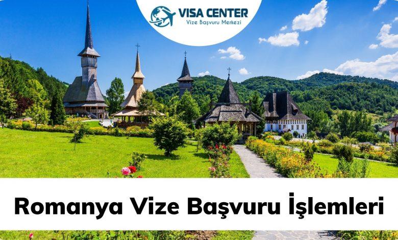 Romanya Vize Başvuru İşlemleri