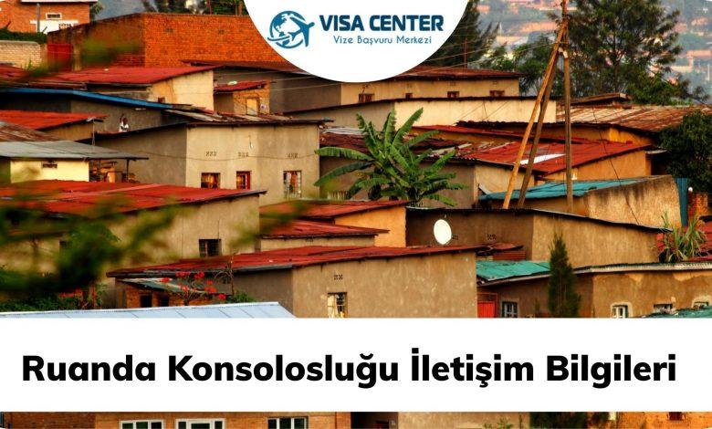 Ruanda Konsolosluğu İletişim Bilgileri