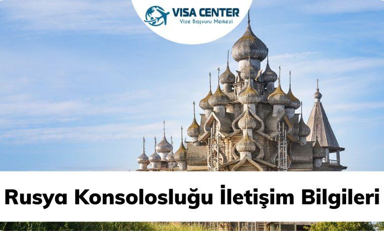 Rusya Konsolosluğu İletişim Bilgileri