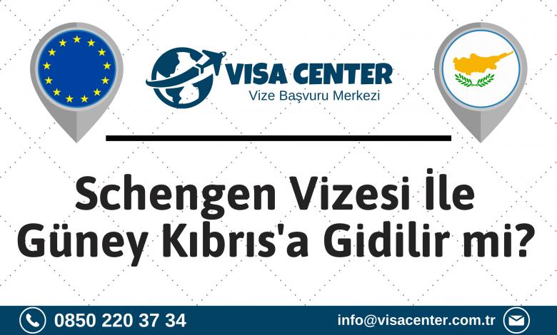 Schengen Vizesi İle Güney Kıbrıs'a Gidilir Mi