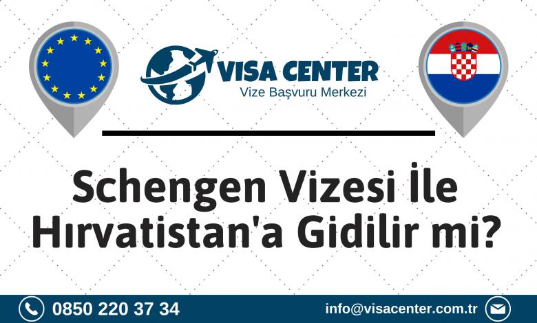 Schengen Vizesi İle Hırvatistan'a Gidilir Mi