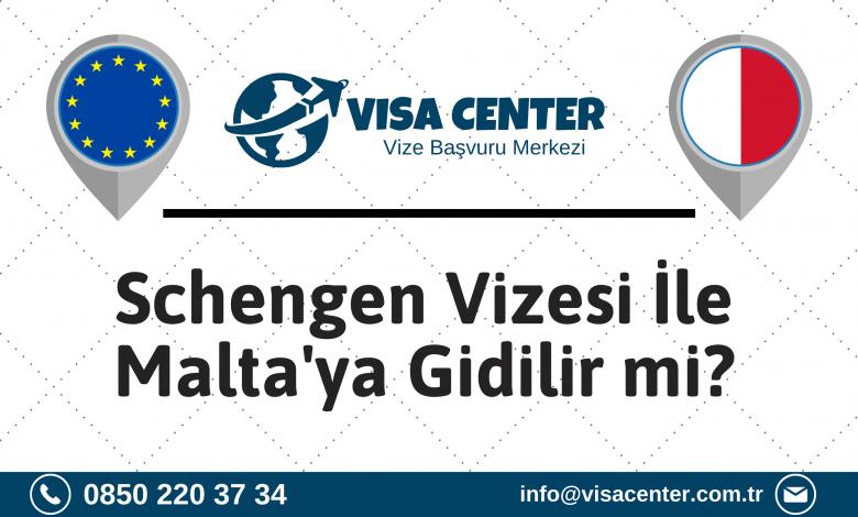 Schengen Vizesi İle Maltaya Gidilir Mi