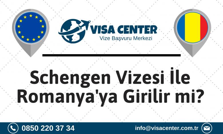 Schengen Vizesi İle Romanya'ya Girilir Mi