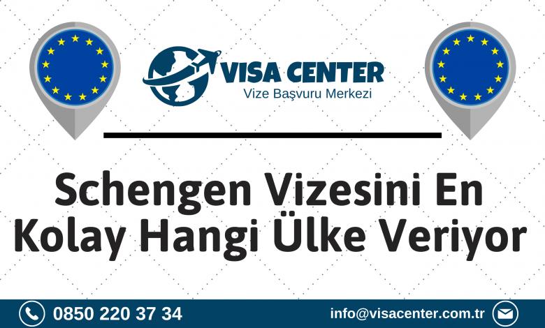 Schengen Vizesini En Kolay Hangi Ülke Veriyor