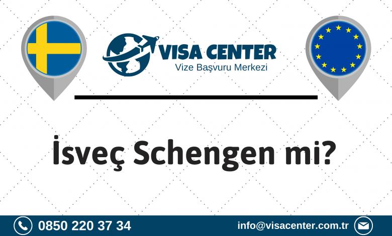İsveç Schengen Mi