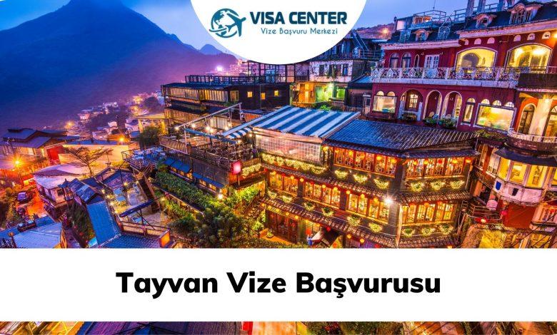 Tayvan Vize Başvurusu