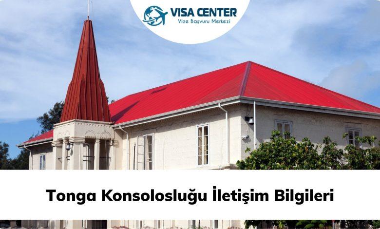 Tonga Konsolosluğu İletişim Bilgileri